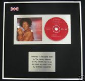 WHITNEY HOUSTON - CD single Award- MY LOVE IS YOUR LOVE